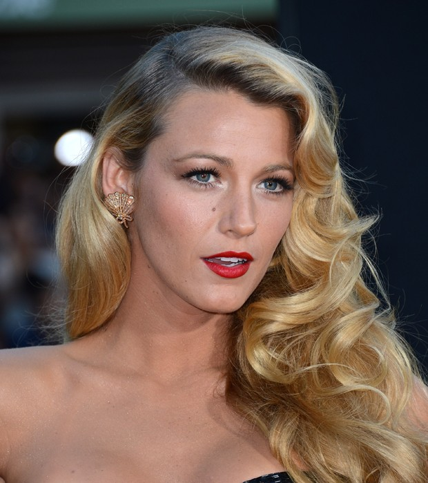 Blake lively com ondas marcadas (Foto: Getty Images)
