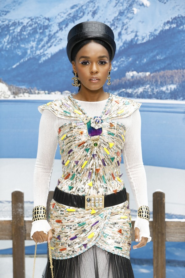 PARIS, FRANCE - MARCH 05: Janelle Monae attends the Chanel show as part of the Paris Fashion Week Womenswear Fall/Winter 2019/2020 on March 05, 2019 in Paris, France. (Photo by Julien M. Hekimian/Getty Images for Chanel) (Foto: Getty Images for Chanel)